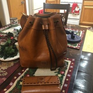Tote and wallet